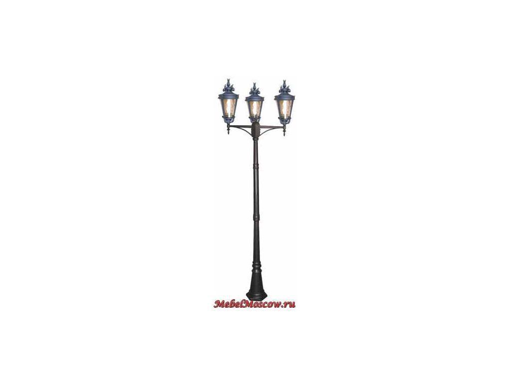 фонарь-столб SG109-3-S (ST черносеребристый)