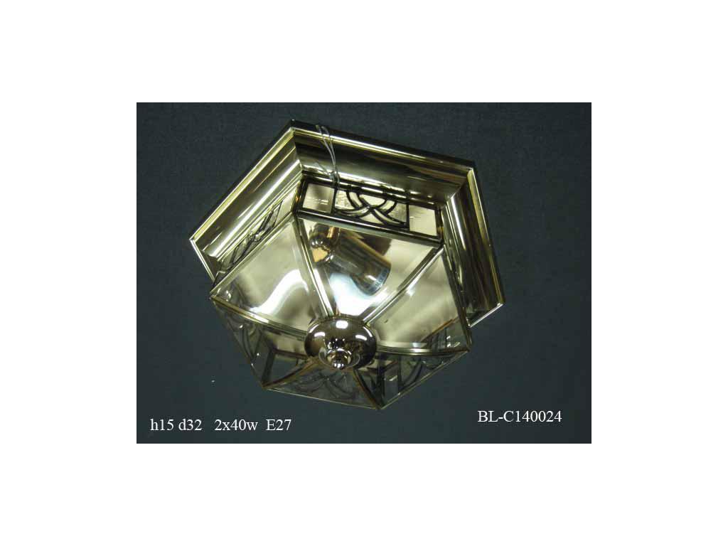 Светильник потолочный BL-C140024 (прозр. стекло)