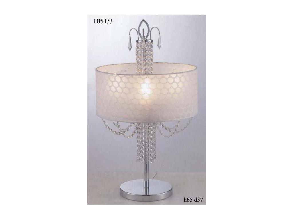 Настольная лампа 1051/3L (хром)