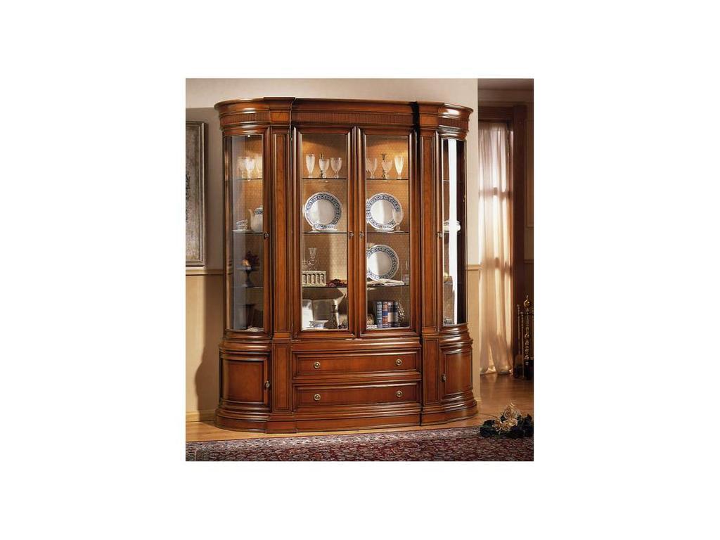 Cercos Серкос: Эвора: витрина 4-х дверная (орех)