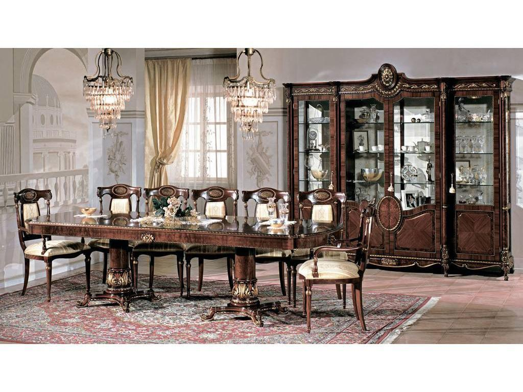 F.lli Pistolesi: Трезор: стол обеденный  (noce)