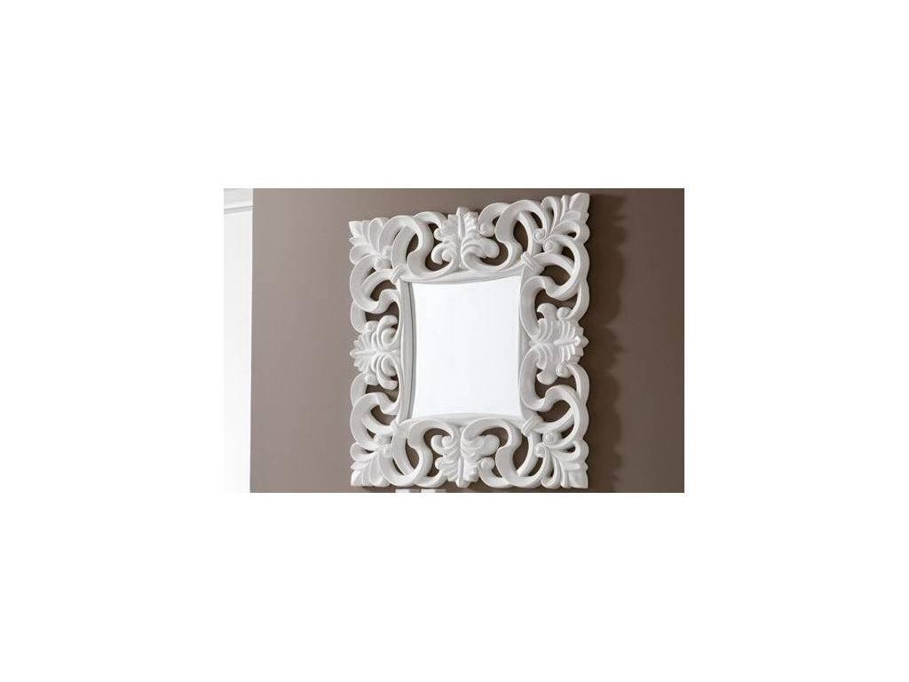 Dupen: зеркало настенное  (белый)