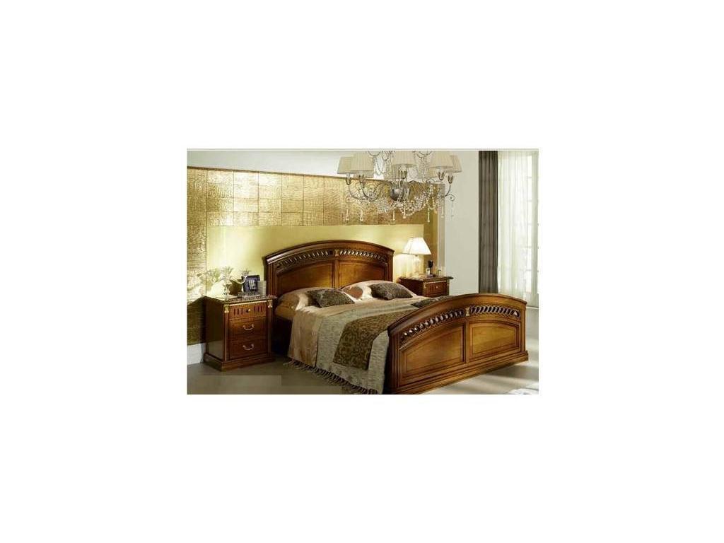 M. Villanova: Анжелика: кровать 160x200  (черешня, золото)