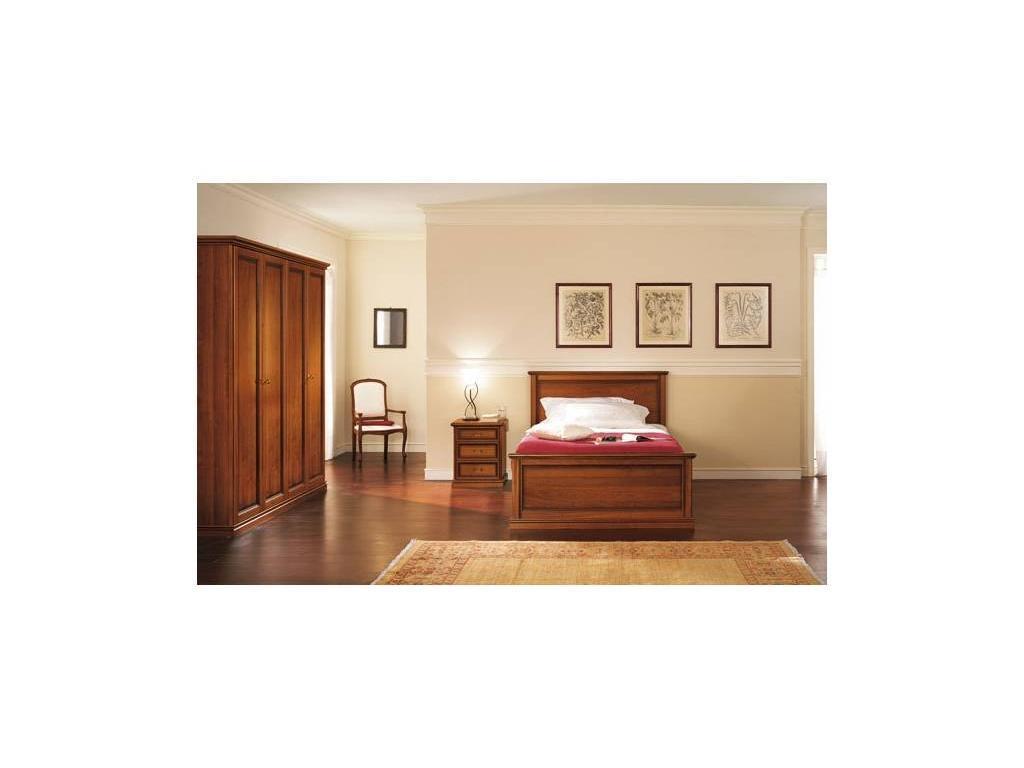 M. Villanova: Aurora: шкаф 4-х дверный h250  (орех)