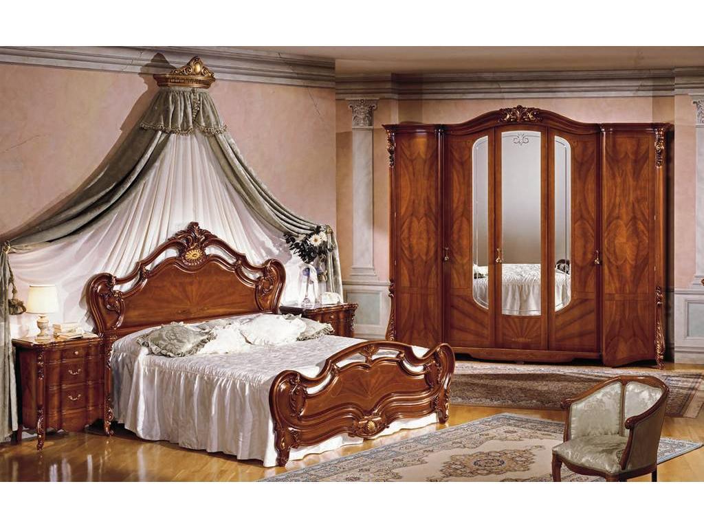 F.lli Pistolesi: Барокко: спальная комната (noce)