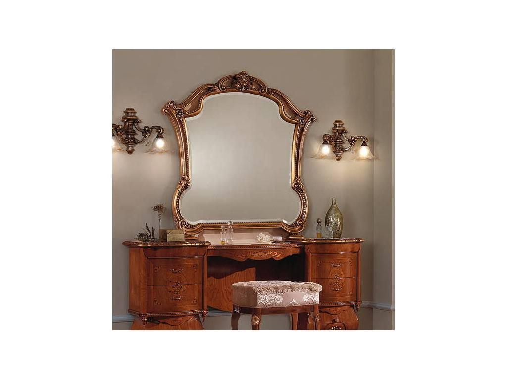 F.lli Pistolesi: Мануэль: зеркало к туалетному столу  (foglia oro)