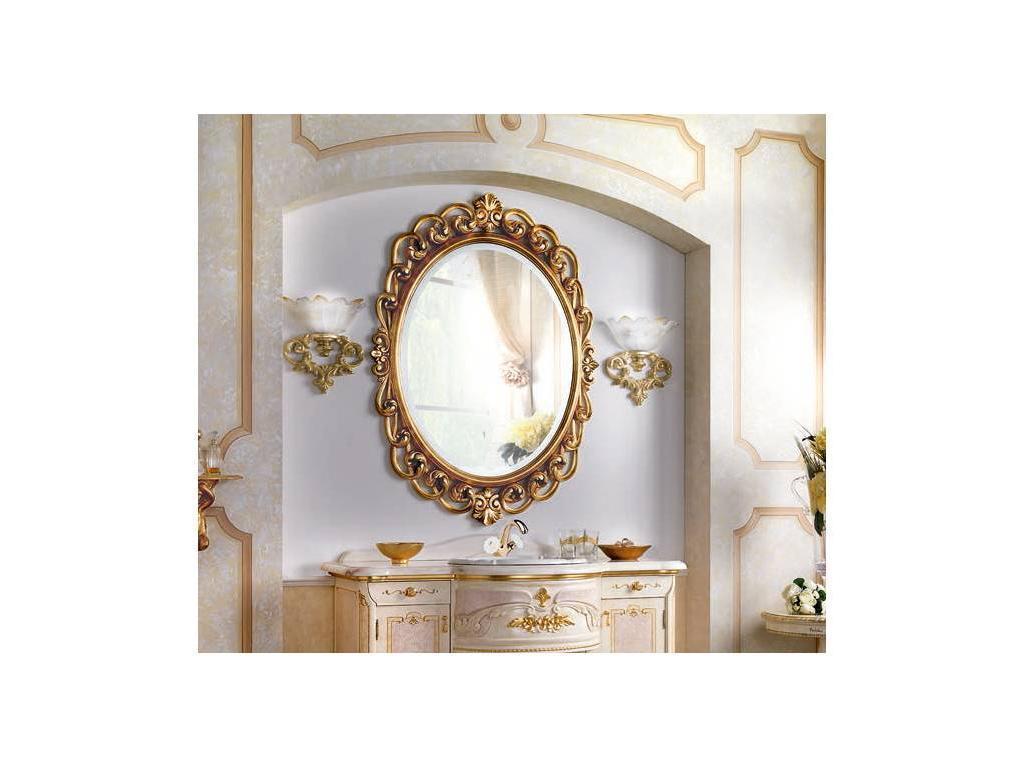 F.lli Pistolesi: Мануэль: зеркало к комоду  (foglia oro)