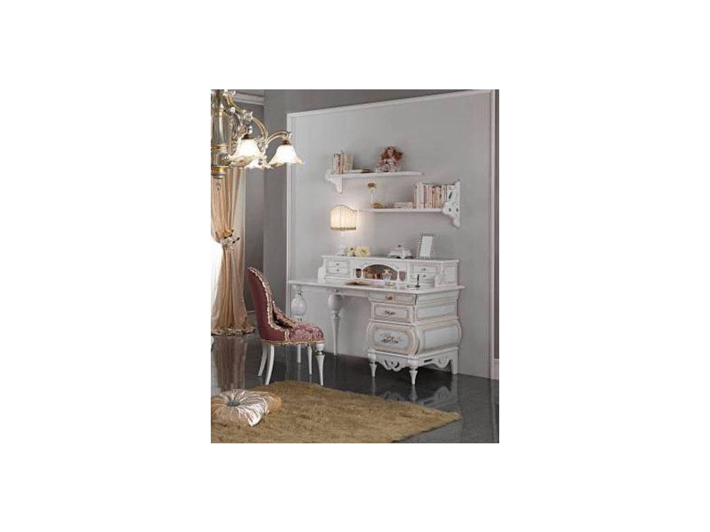 F.lli Pistolesi: Noemi: стол письменный  (bianco fiore)