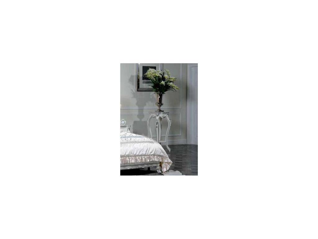 Nijoy: Антуанетта: подставка под цветы  (белый, серебро)