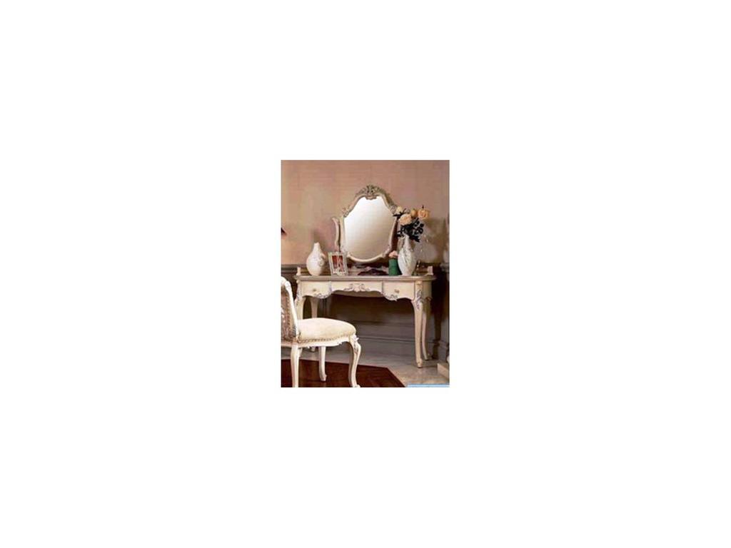 Nijoy: Джульетта: стол туалетный  (слоновая кость, серебро)