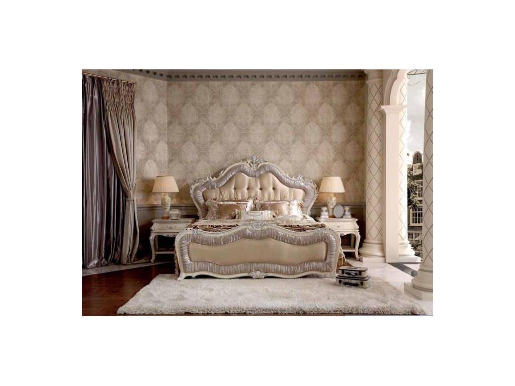 Nijoy: Джульетта: спальная комната (слоновая кость, серебро)