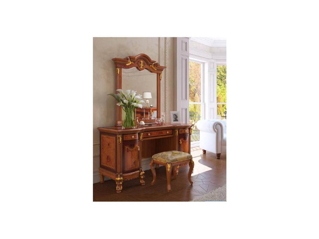 Nijoy: Мадонна: стол туалетный с зеркалом  (олива янтарная)