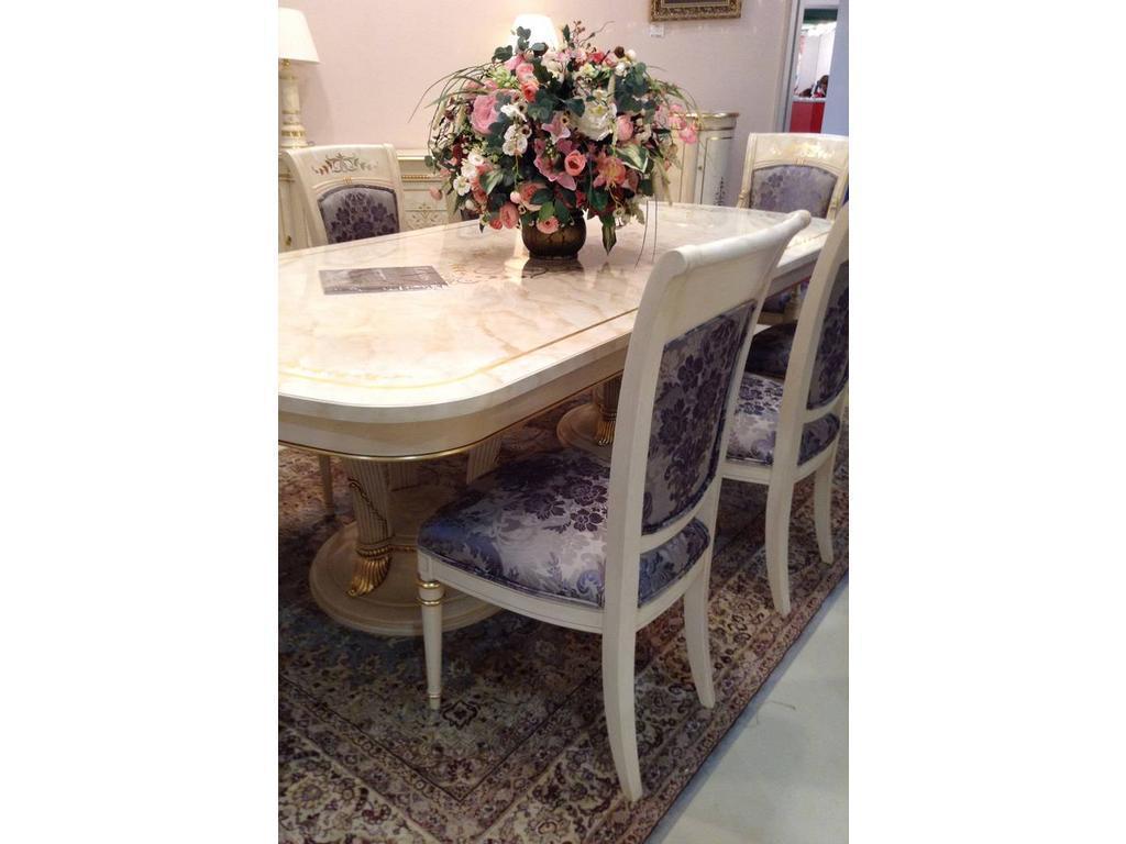 Vicente Zaragoza: Калифорния: стул  (белый, золото)