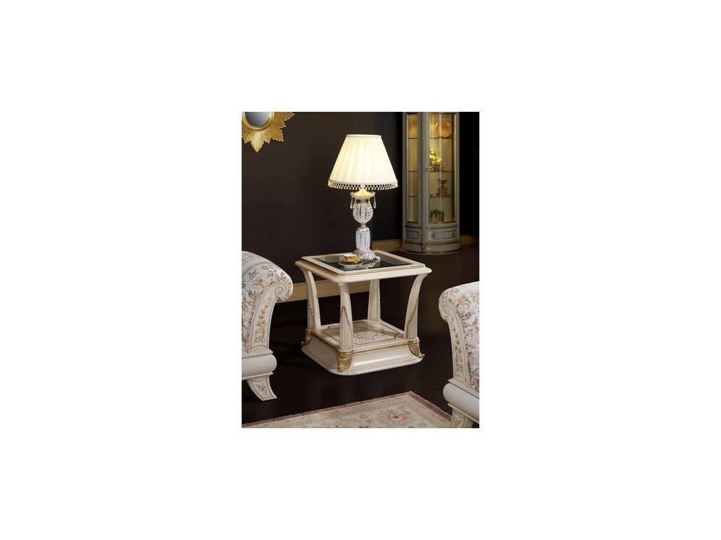 Vicente Zaragoza: Калифорния: стол журнальный  (белый, золото)