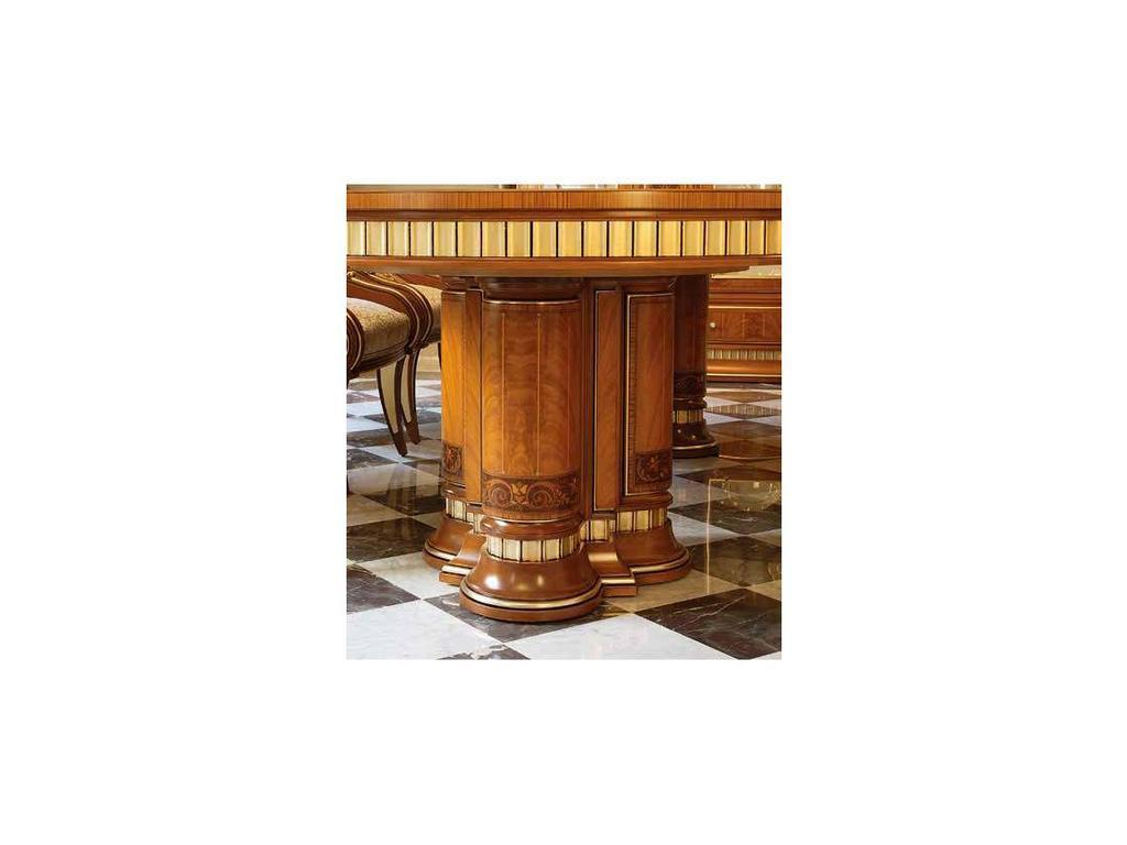 Vicente Zaragoza: Эрмитаж 24: стол обеденный  300х120 (орех, инкрустация)