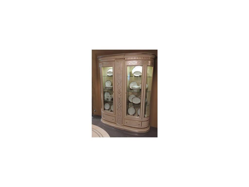 Vicente Zaragoza: Эрмитаж 23: витрина 2 дверная  с баром (каррара, имитация мрамора)