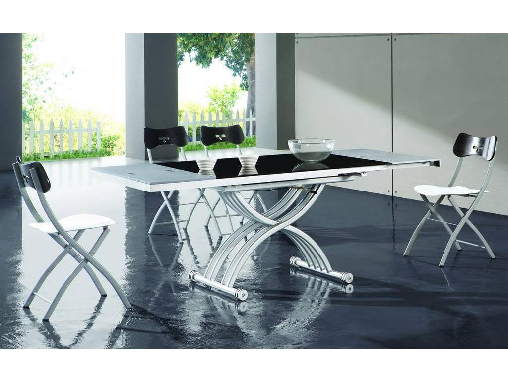 СФ: стол-трансформер 70х127/197х30/76 (черный