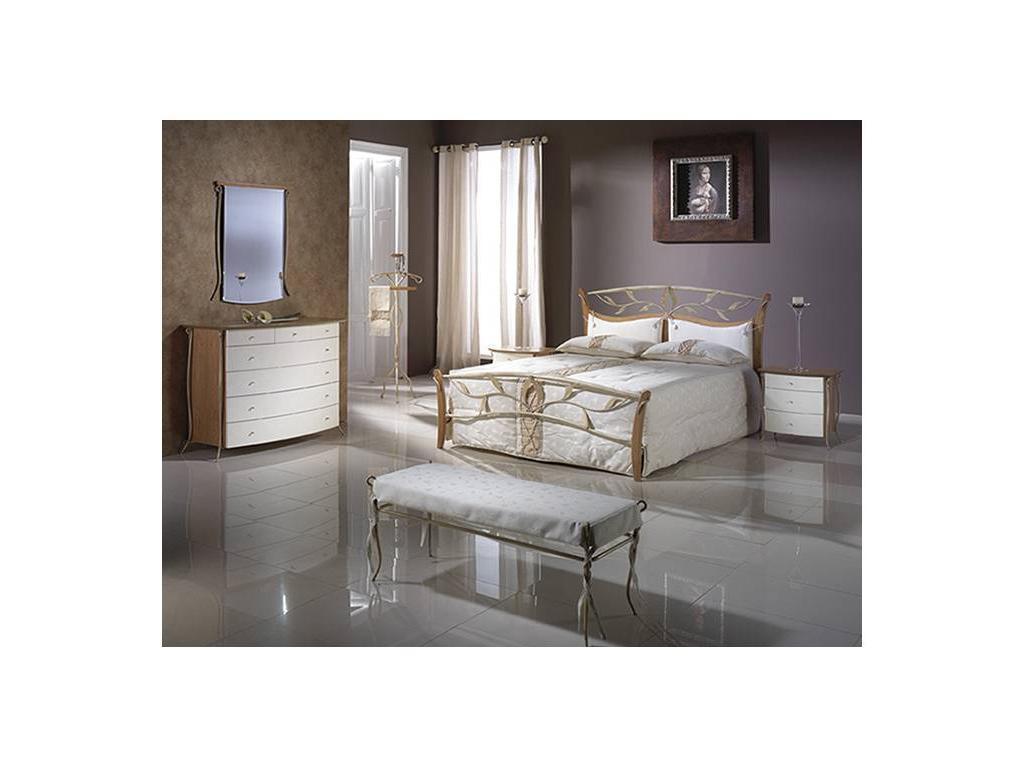 Proforma Diseno: Madrid: кровать 180х200 (cerezo,marron antico)