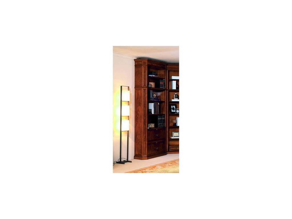 Inter CL. Mobilia: Stilum: шкаф книжный с полками. 2 ящика