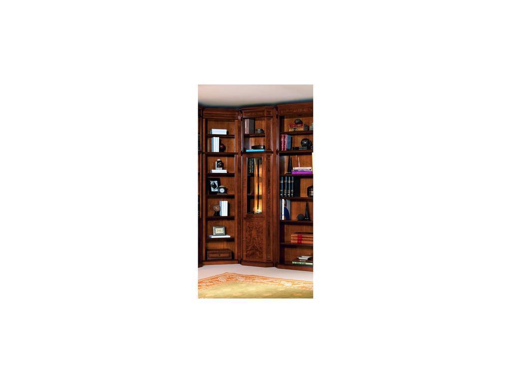 Inter CL. Mobilia: Stilum: шкаф книжный 1 дверь стекло+дверь дерево