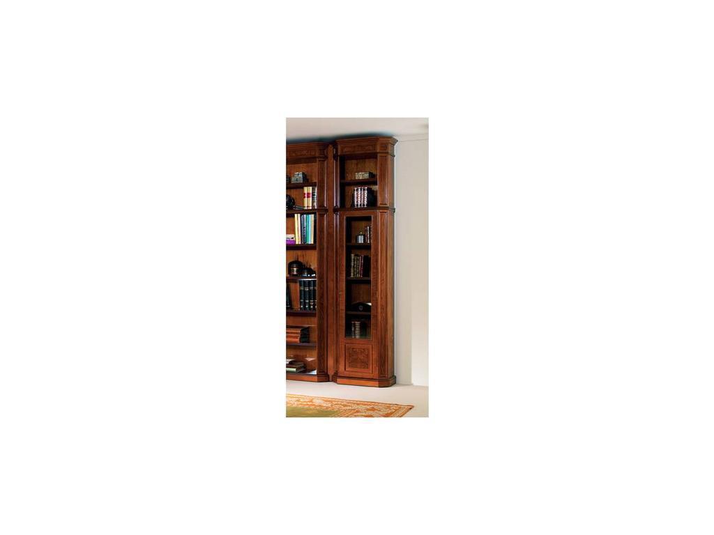Inter CL. Mobilia: Stilum: шкаф книжный 1 дверь стекло
