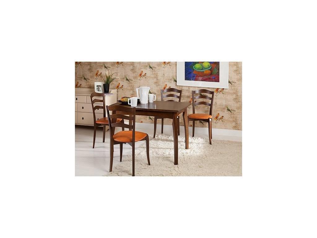 Орион: стол обеденный раскладной Рейн (орех)