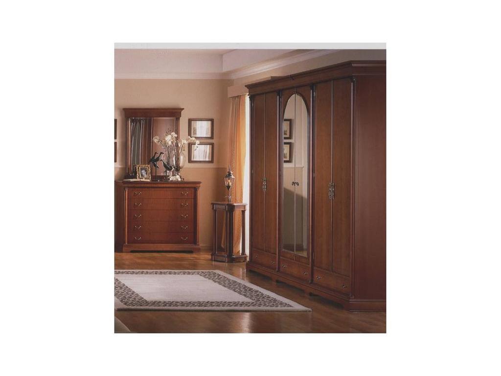 Monrabal Chirivella: Адриана: шкаф 6 дв 2 зеркала  (черешня)
