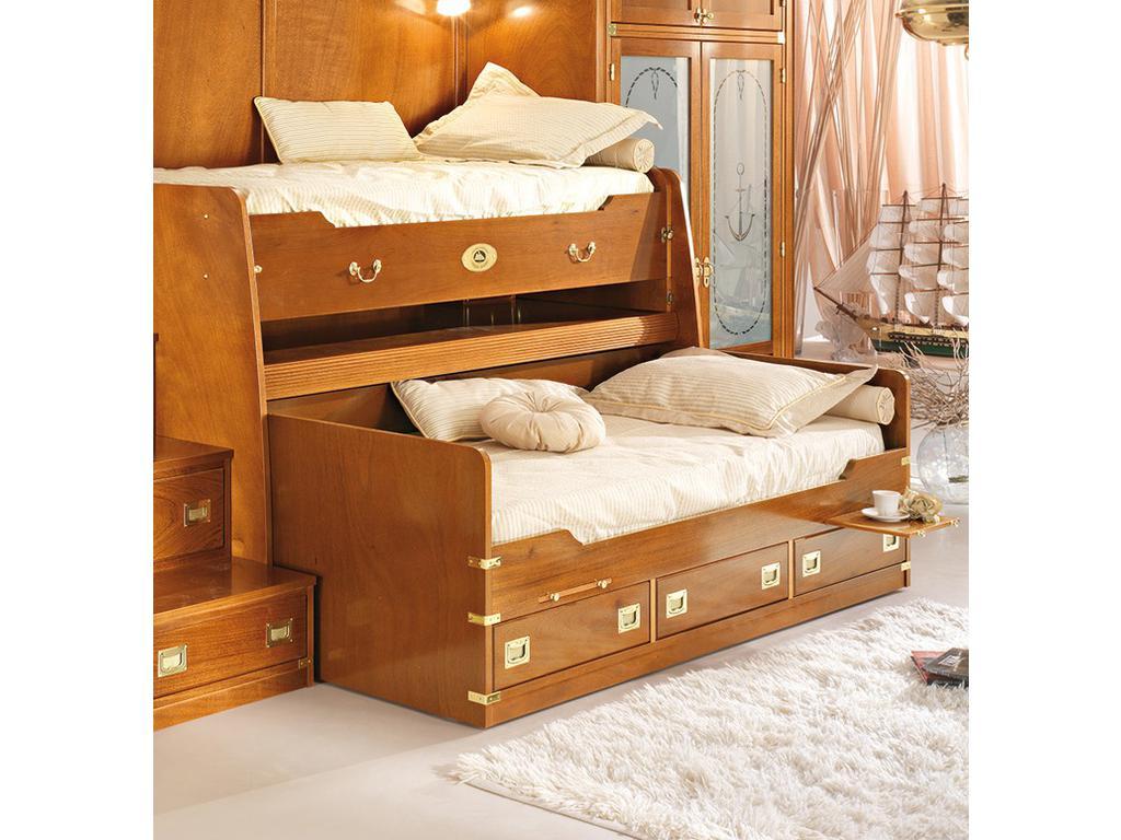 Caroti: кровать 90х200  (натуральный светлый)