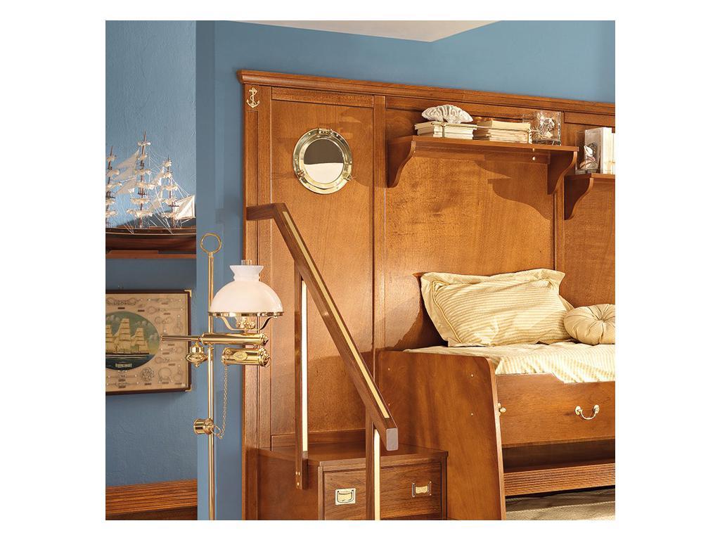 Caroti: зеркало - иллюминатор  (натуральный светлый)