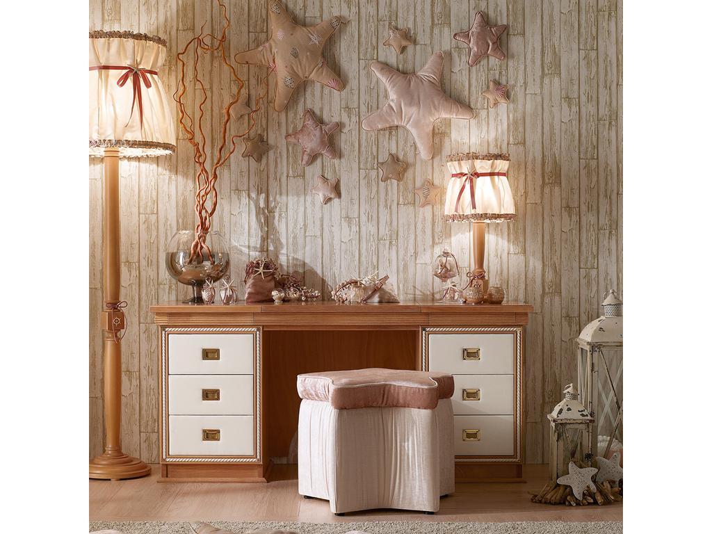 Caroti: стол туалетный  (натуральный светлый)