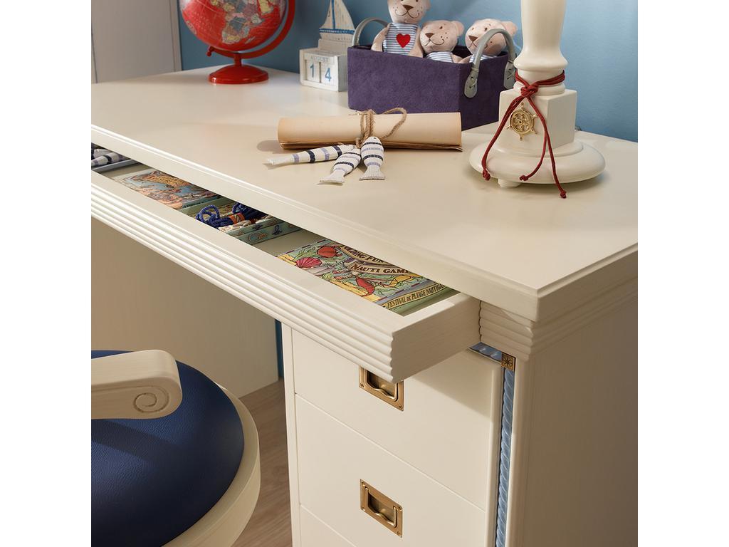 Caroti: стол письменный Кордаж  (белый)
