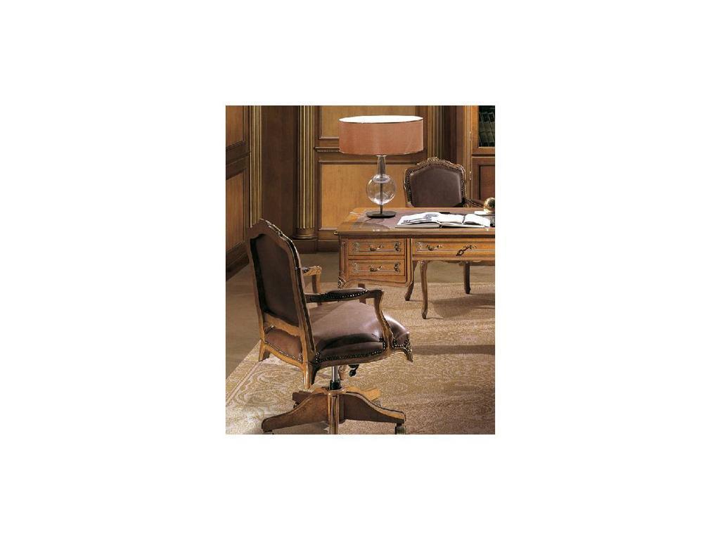 Angelo Cappellini: Bernini: кресло вращающееся  кожа (LOO)