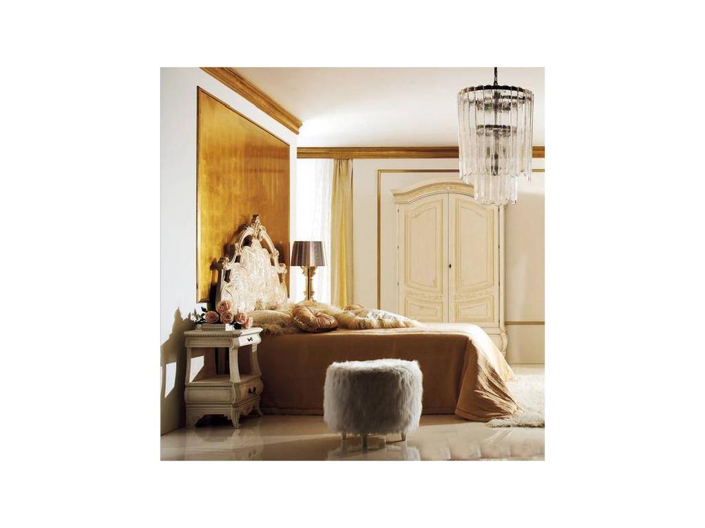 Grilli Грилли: Рондо: кровать 180х200 Мурано King Size  (слоновая кость)