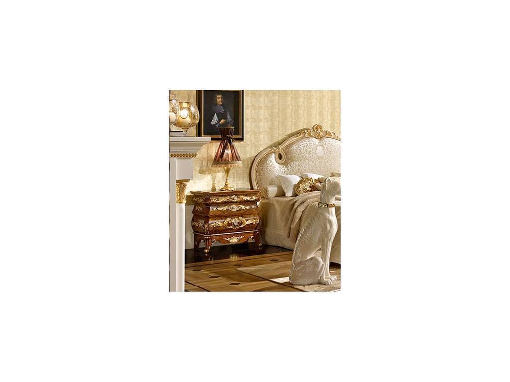 Grilli Грилли: Версаллес: тумба прикроватная  (орех, позолота)