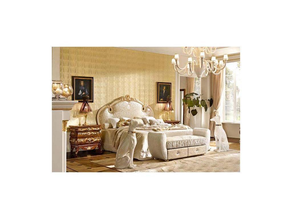 Grilli Грилли: Версаллес: спальная комната Florian (слоновая кость, позолота)