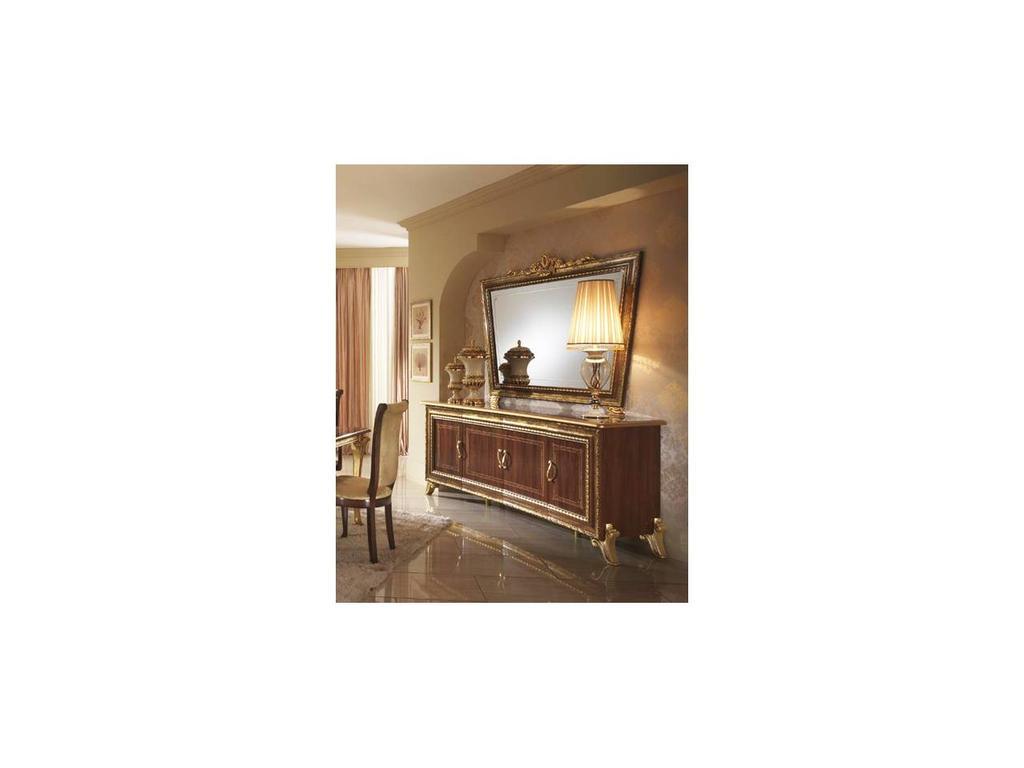 Arredo Classic: Giotto: зеркало Джотто к комоду 4-х дверному (орех)