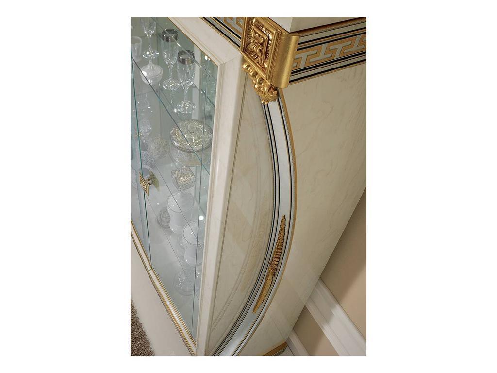 Arredo Classic: Liberty: витрина 2-х дверная (слоновая кость)