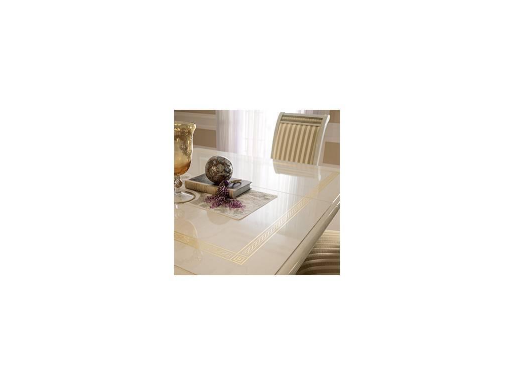 Arredo Classic: Liberty: стол обеденны раскладной квадратный (слоновая кость)