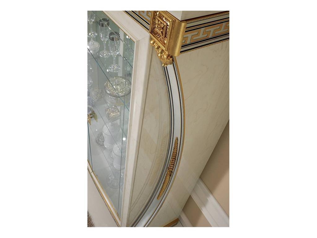 Arredo Classic: Liberty: витрина 1 дверная (слоновая кость)