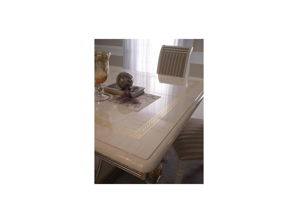 Arredo Classic: Liberty: стол обеденный раскладной 2 вставки (слоновая кость)