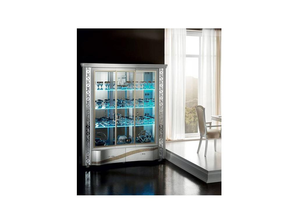 Arredo Classic: Miro: витрина трехдверная (белый)