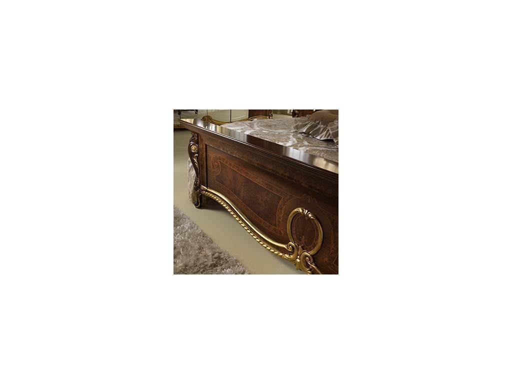 Arredo Classic: Donatello: кровать 180х200 King size (тёмный орех)
