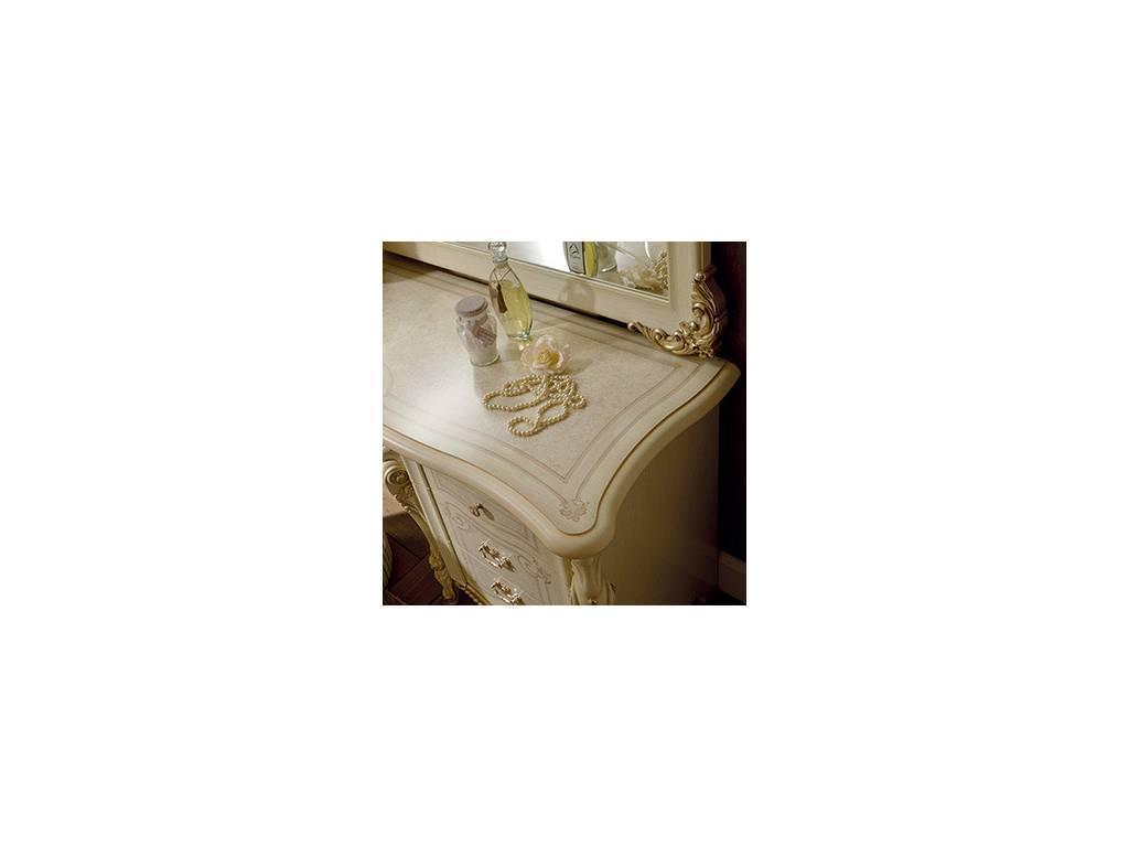 Arredo Classic: Tiziano: стол туалетный (слоновая кость с золотом)