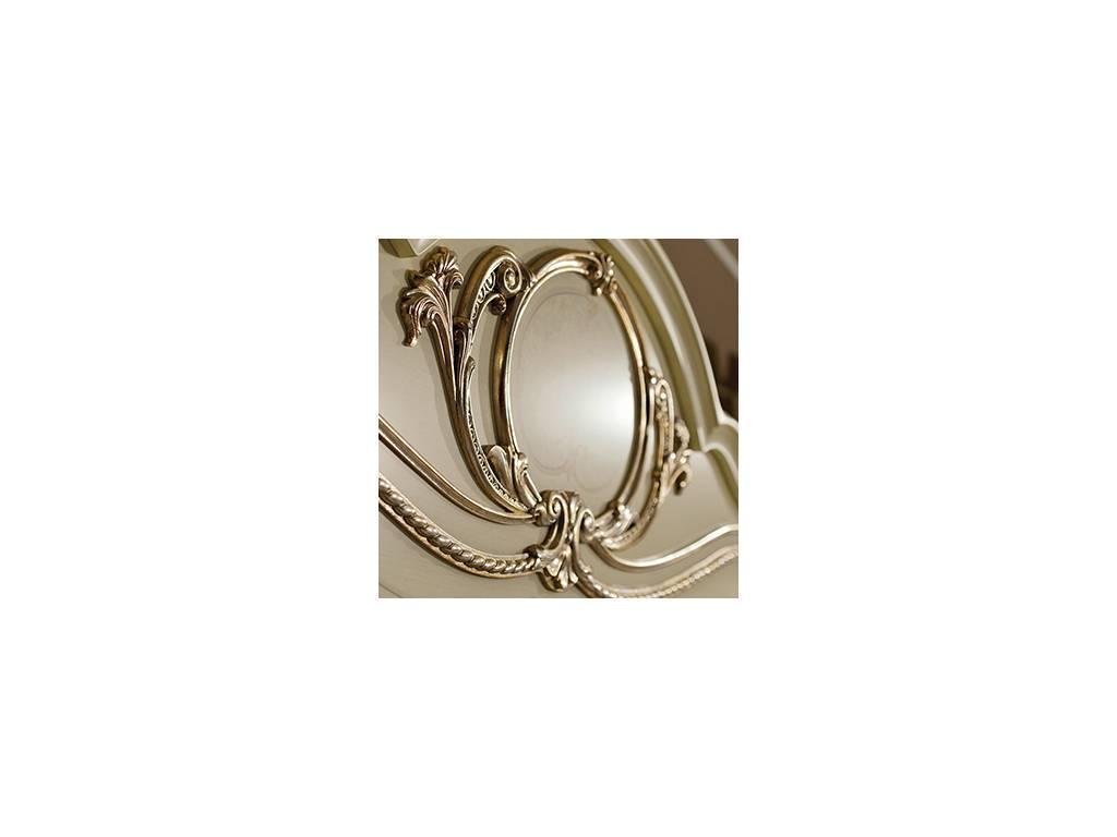 Arredo Classic: Tiziano: кровать 180х200 (слоновая кость с золотом)