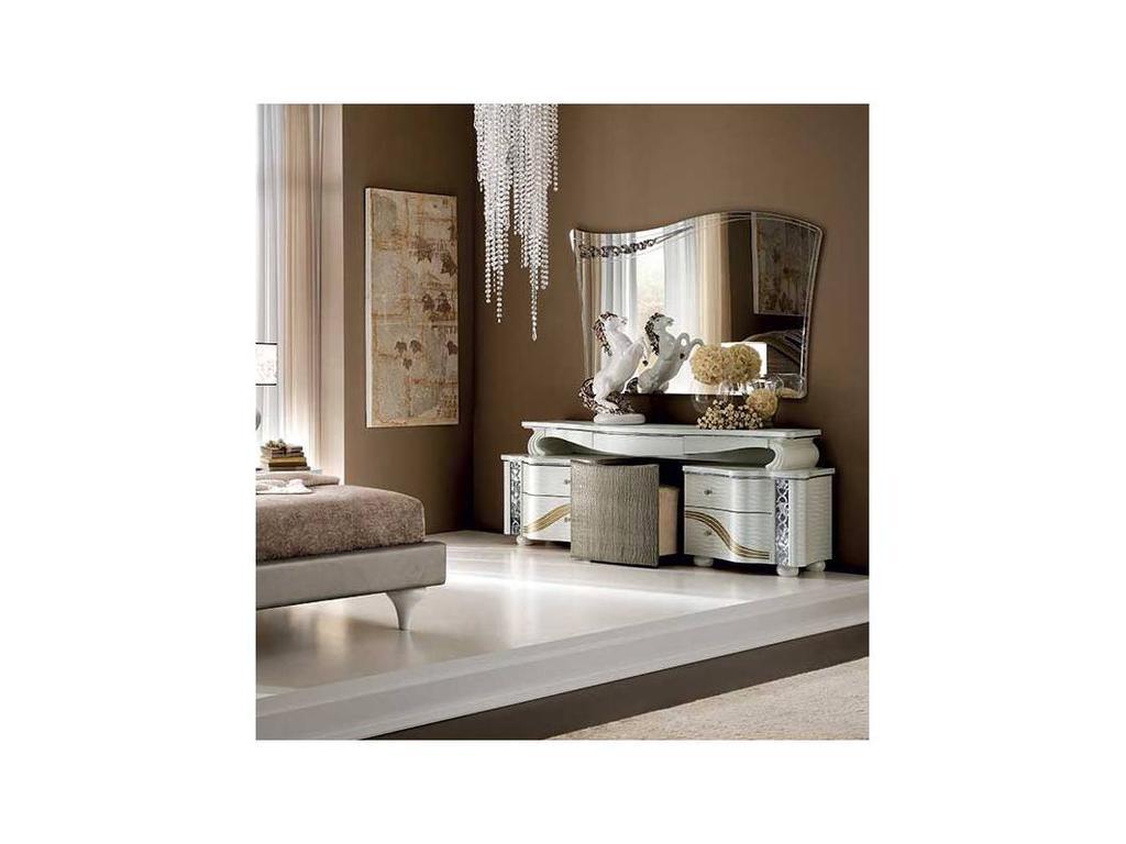 Arredo Classic: Miro: зеркало (белый, серебро)
