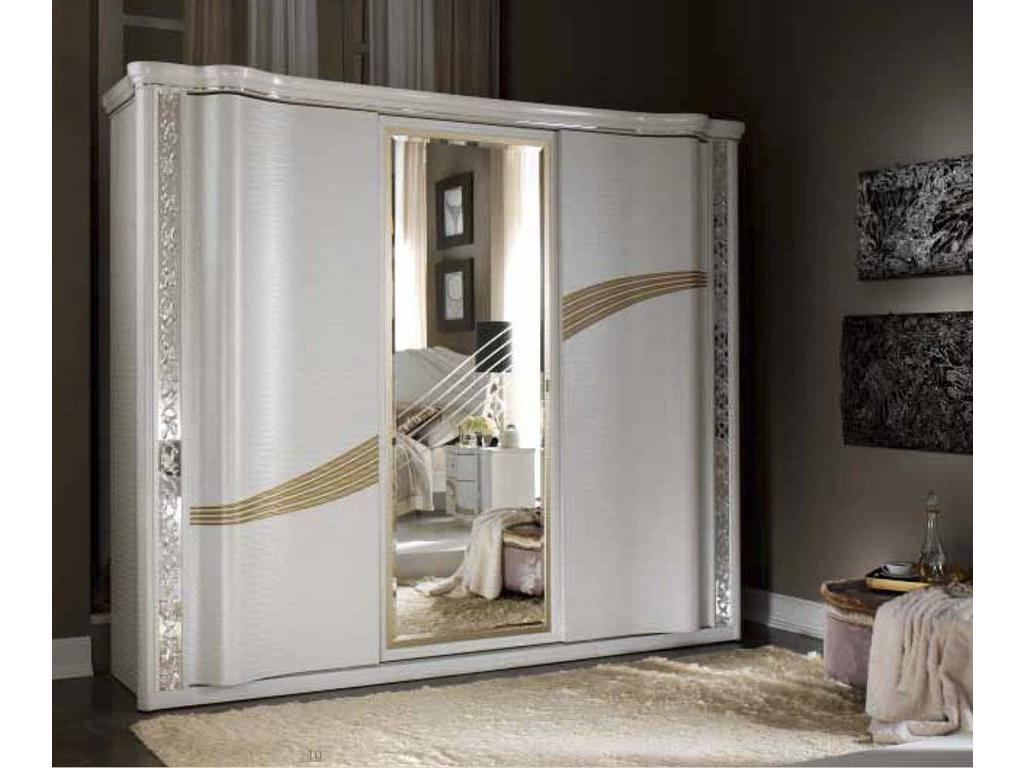 5201256 arredo classic: miro: шкаф-купе 3-х дверный (белый, .