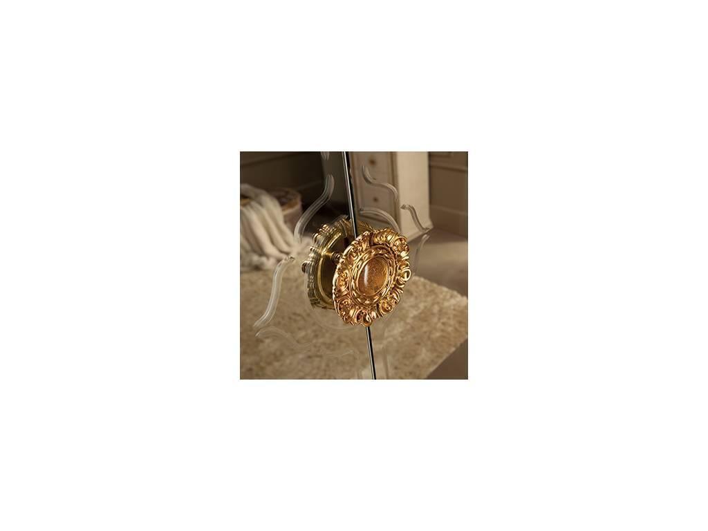 Arredo Classic: Leonardo: шкаф 4-х дверный большой (крем, золото)