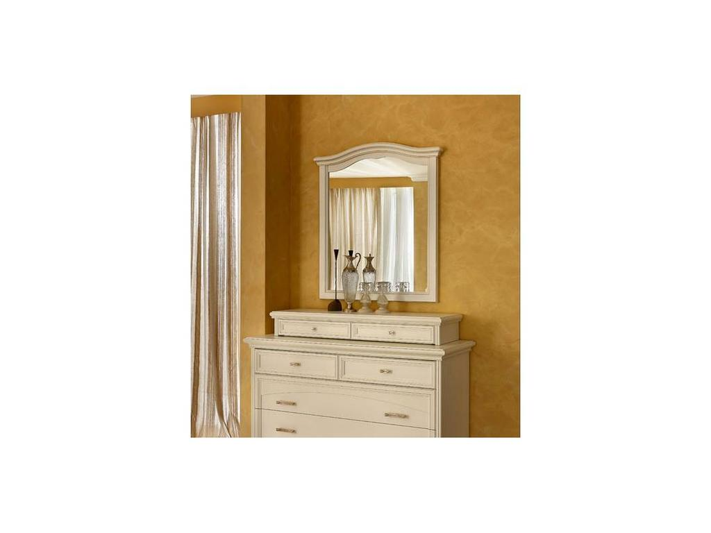 Dal Cin: Ambra: зеркало  (bianco)
