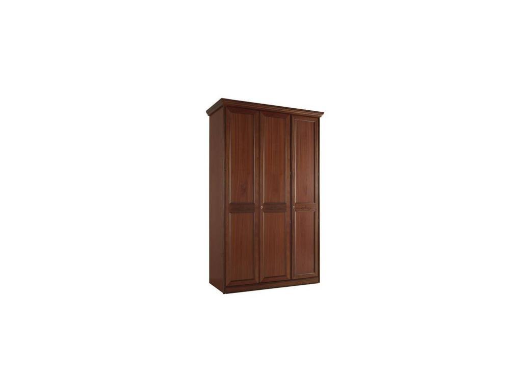 Liberty: Сан-Ремо: шкаф 3-х дверный  с декором (вишня)