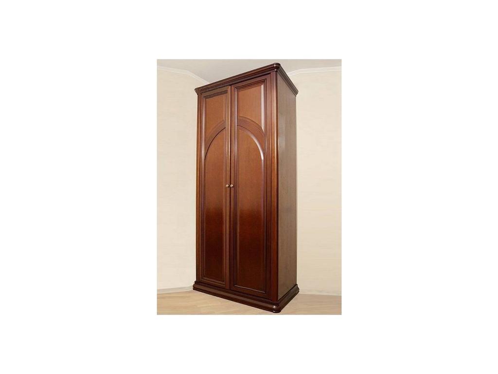 Liberty: Сильвия: шкаф 2 дверный  (орех милано)